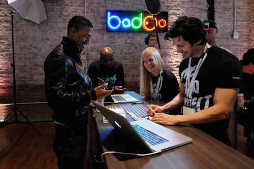 Nick Cannon And Badoo.com Launch the Badoo Project in New York
